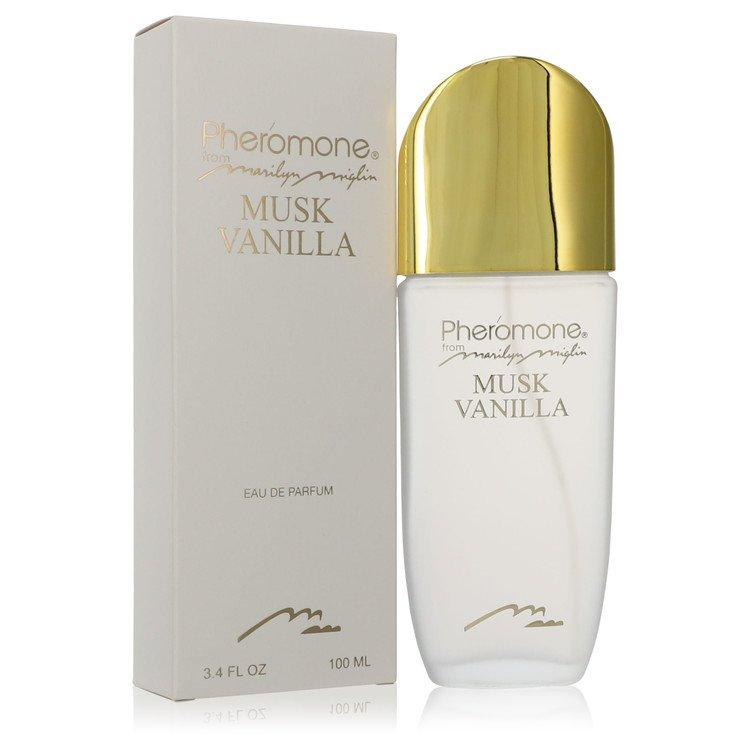 Pheromone Musk Vanilla by Marilyn Miglin Eau De Parfum Spray 3.4 oz for Women - Oliavery