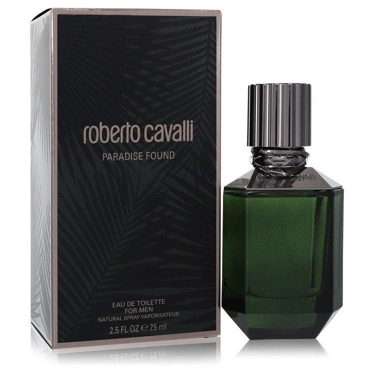 Paradise Found by Roberto Cavalli Eau De Toilette Spray 2.5 oz for Men - Oliavery