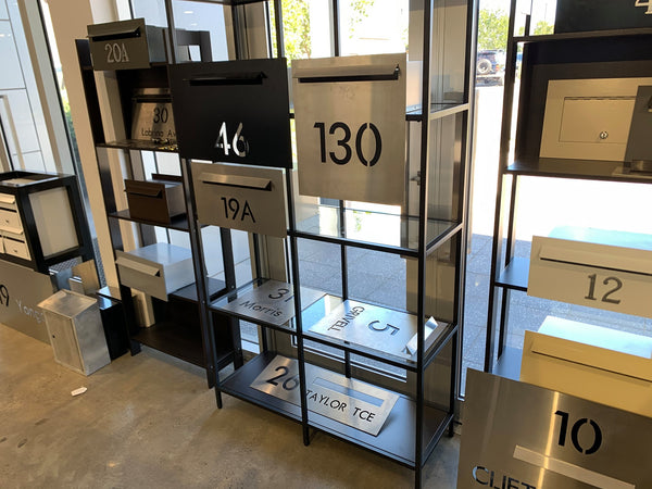 adelaide letterboxes showroom