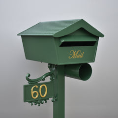 cottage green letterboxes
