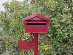 manor red letterbox