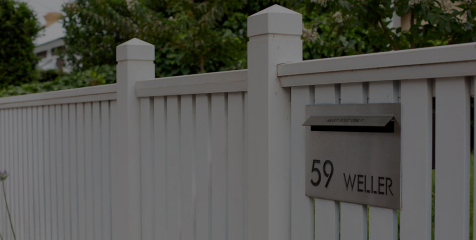 Bring your front yard to life with Adelaide Letterboxes