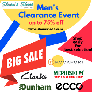 Men's Clearance Event