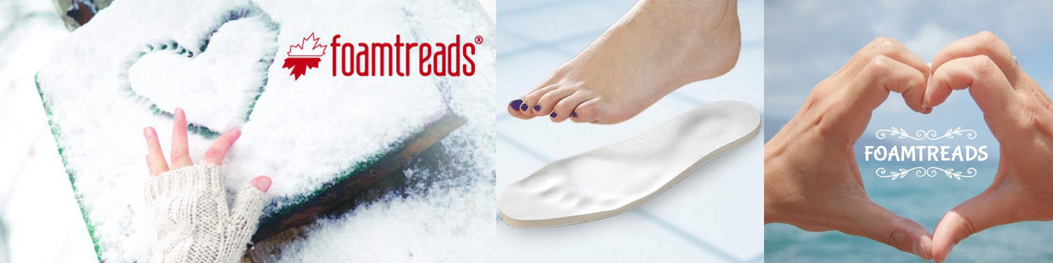 Foamtreads Collection Banner