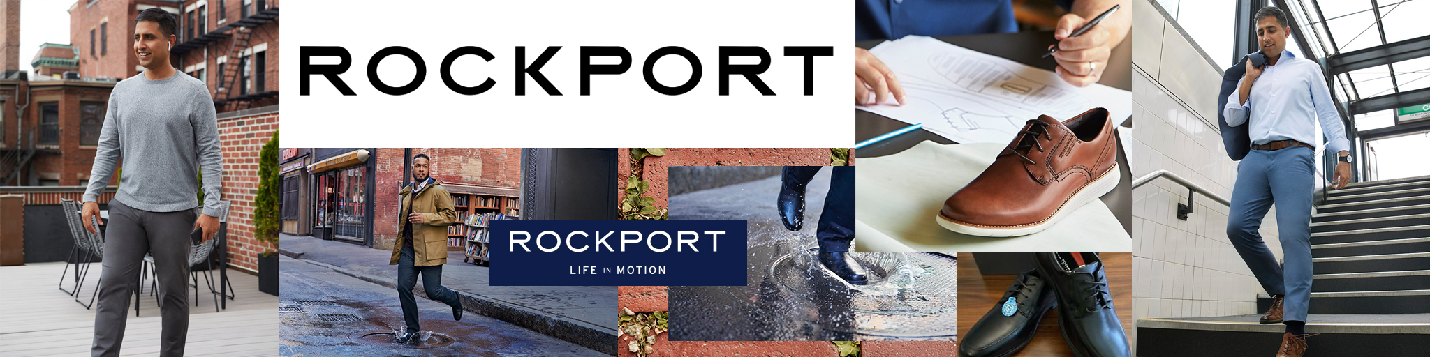 Rockport Collection Banner