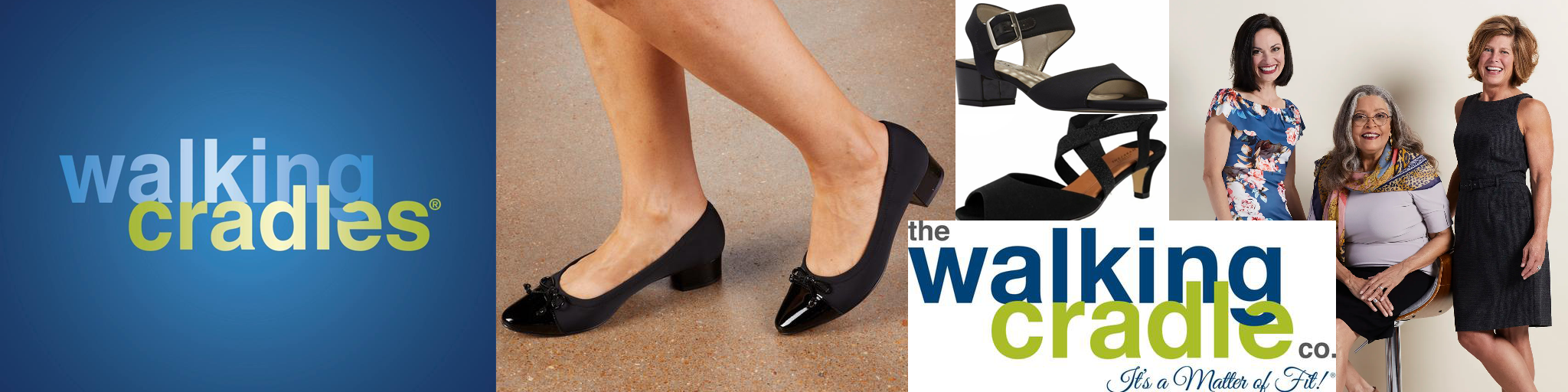 Walking Cradles Collection Banner