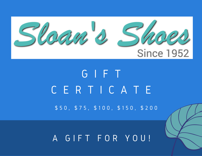 Sloan's Shoes Gift Card