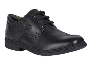 The most well liked school uniform shoe with its classic styling with the three eyelet laces and the side gores for just the right fit.