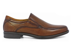 Midtown Moc Toe Slip On Cognac by FLORSHEIM