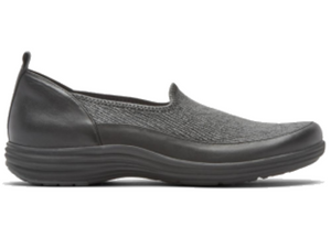 Side view allows you to see how much the ripple top will wrap around your foot, allowing for the greatest in comfort.