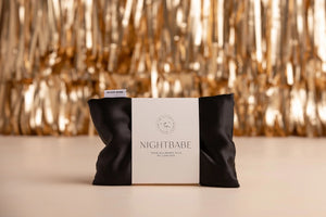 Night Babe 100% Mulberry Silk Pillow Case