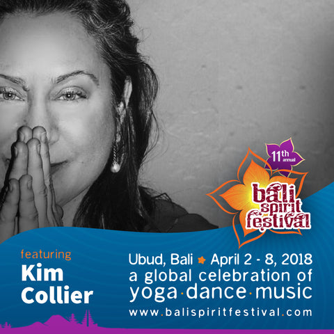 Bali Spirit Festival 2018 Kim Collier Co-Presenter