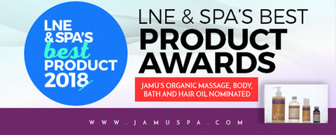 LNE & Spa Magazine Nominee for 2018 Best Product Awards