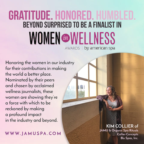 Spa Magazine's Wellness in Women Award