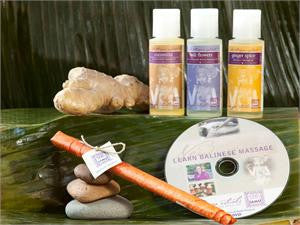 Balinese Massage DVD & Organic Oils  - STARTER KIT