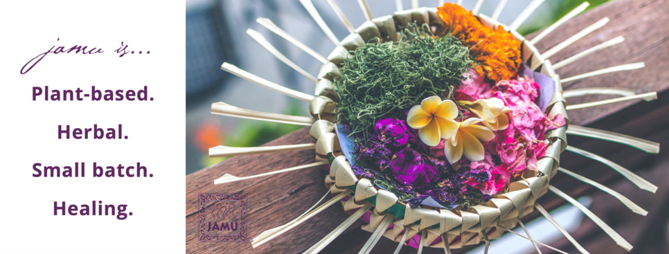Beauty 100 best body scrub JAMU Bali flowers