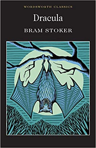 book cover of brom stoker's dracula