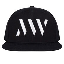 Load image into Gallery viewer, MAURICE WEST LOGO EMBROIDERED SNAPBACK BLACK