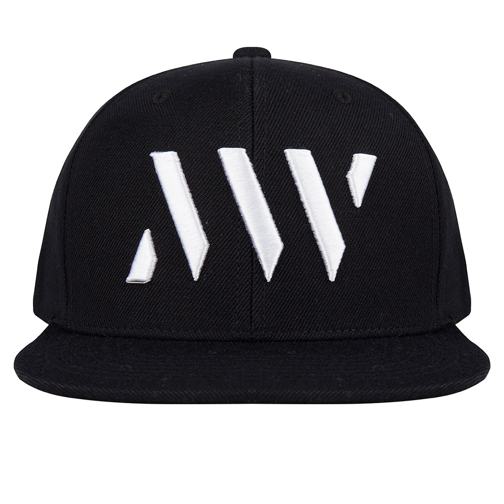 MAURICE WEST LOGO EMBROIDERED SNAPBACK BLACK