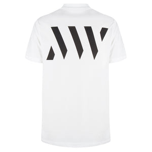 MAURICE WEST LOGO-PRINT T-SHIRT WHITE