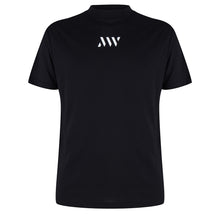 Load image into Gallery viewer, MAURICE WEST LOGO-PRINT T-SHIRT BLACK