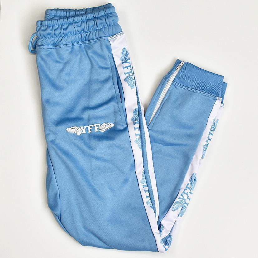 Ice Blue Adults YFF Tracksuit Pants
