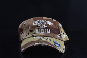 "YFF "" EveryBody Vs Racism "" Desert Storm Distressed Hat"