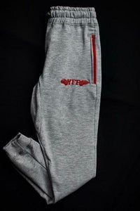 Unisex  Jogger Pants ( Grey & Red )