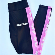 Load image into Gallery viewer, Leggings Sports ( Black-Pink-White )