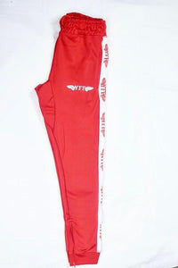 Red & White ( YFF ) Track Pants