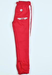 Red & White Kids Track Suit Pants YFF ( Young Fly Fla$hy )