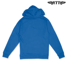 Load image into Gallery viewer, YFF Nipsey Blue Hoodie