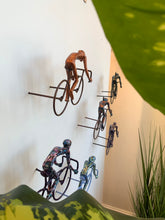 Load image into Gallery viewer, 6 piece 3D Sculpture Bicycle Wall Art Gift For Home Decor Interior Design UNIQUE AND AMAZING floating 2 Couple Bronze
