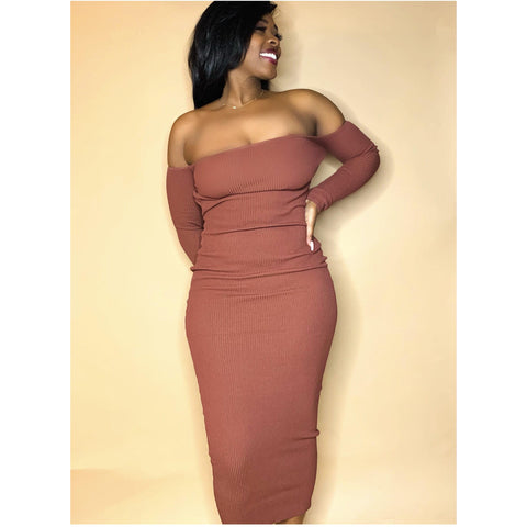 Brown Sugar Dress - Label Me Myaj