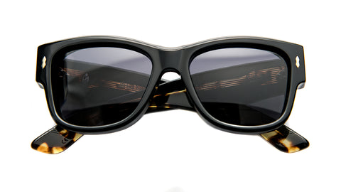 ANITA-Noir / Black CR39 / 18k Dark Gold