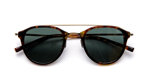 EYEVAN 767-Tortoise / Antique Gold / G15 Polarized