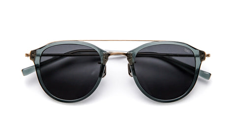 EYEVAN 767-Jade / Antique Gold / Black Polarized