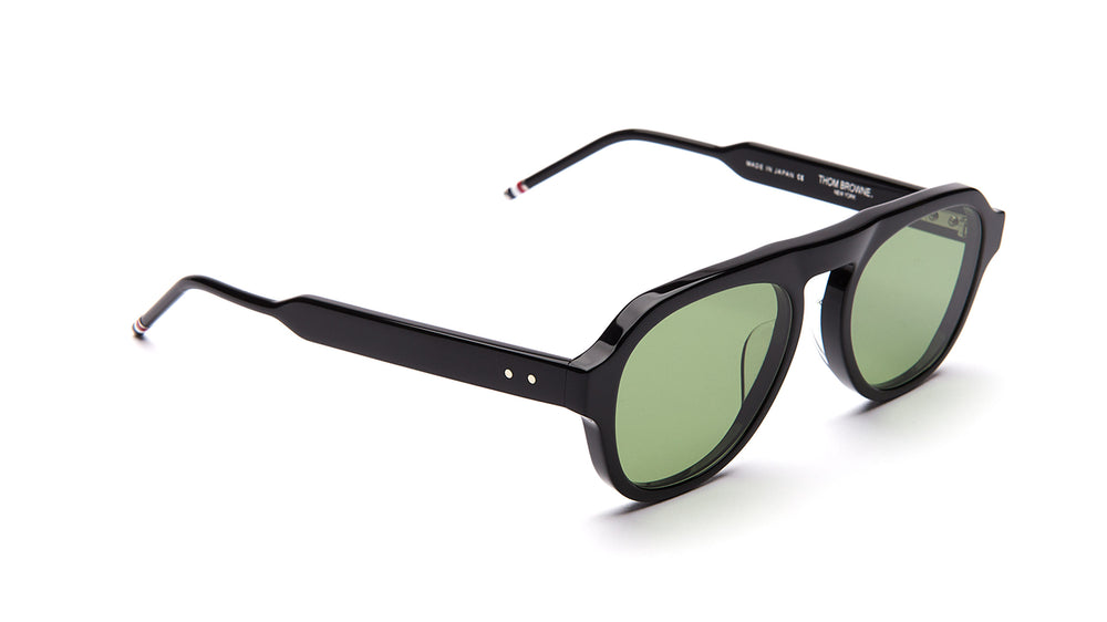 THOM BROWNE 416-Black / Vintage Green