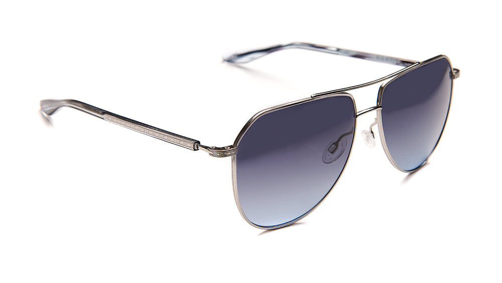 VOLTAIRE SUN-Silver / Crystal / Midnight / Steel Blue
