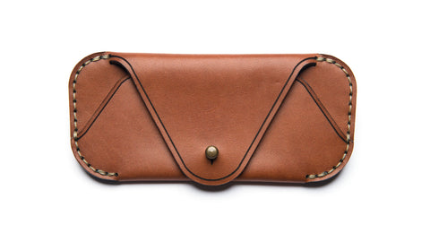 EYEWEAR SLEEVE-Saddle Tan