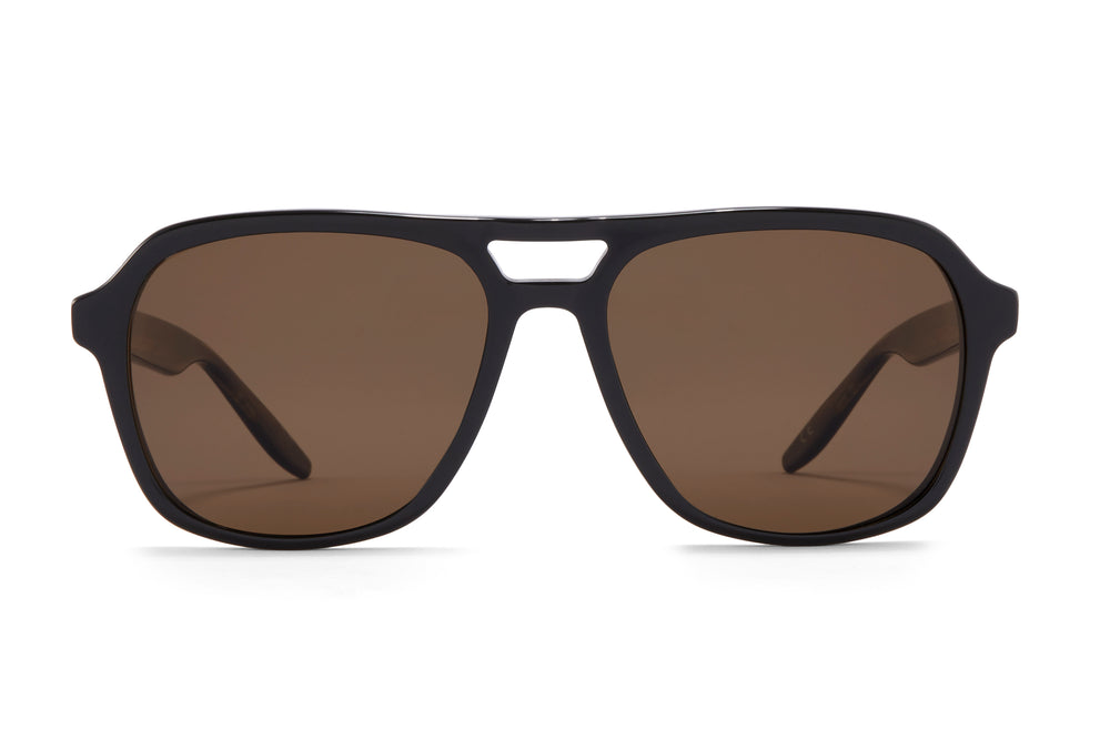 MODERNIST-Black / Sulcata Tortoise / Sequoia Polarized
