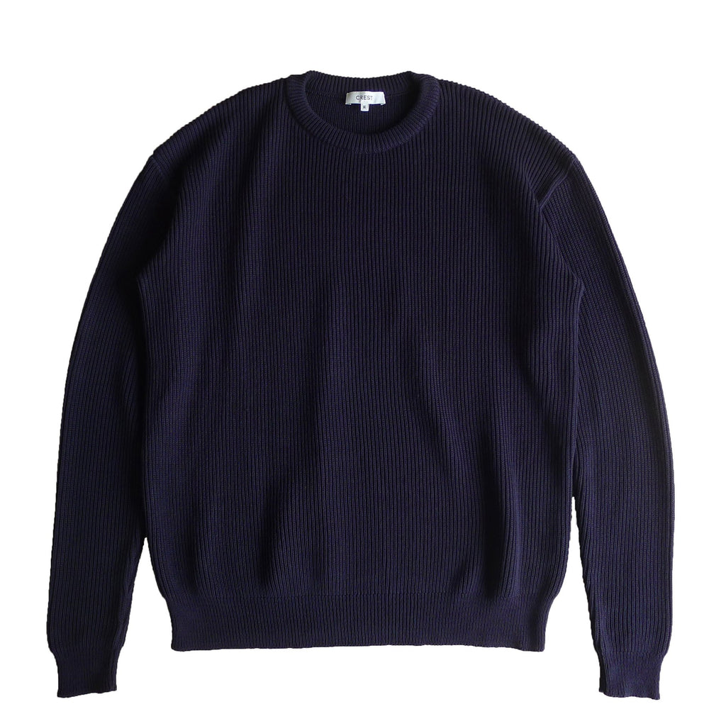 Crew Knit Sweater - crestofficiel