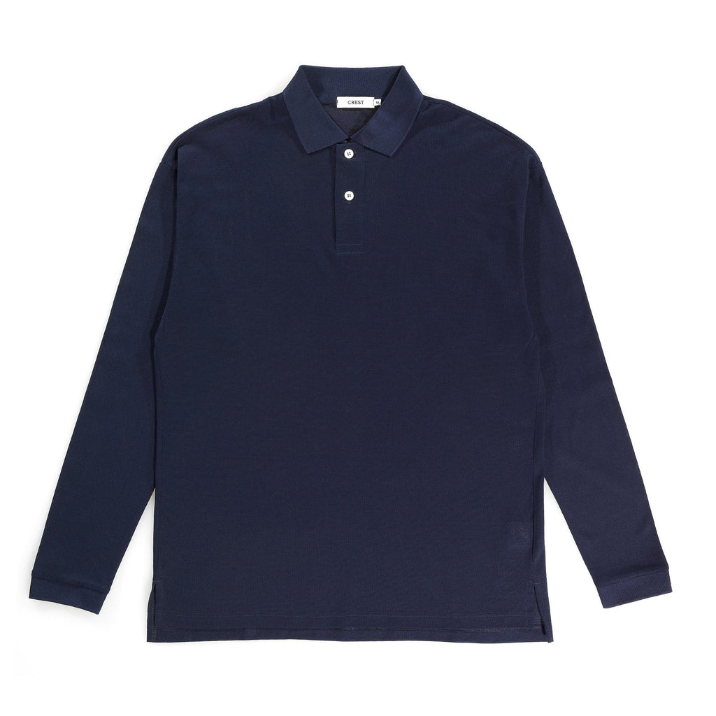 Classic Relaxed L/S Polo - crestofficiel