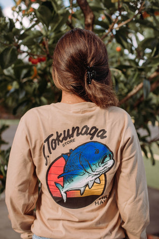 Tan Tokunaga Long Sleeve