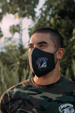 Black Triple Layer Mask