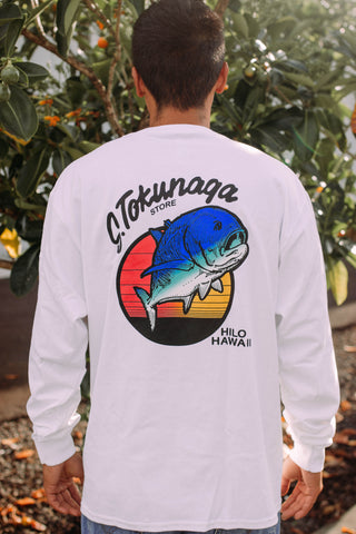 White Tokunaga Long Sleeve