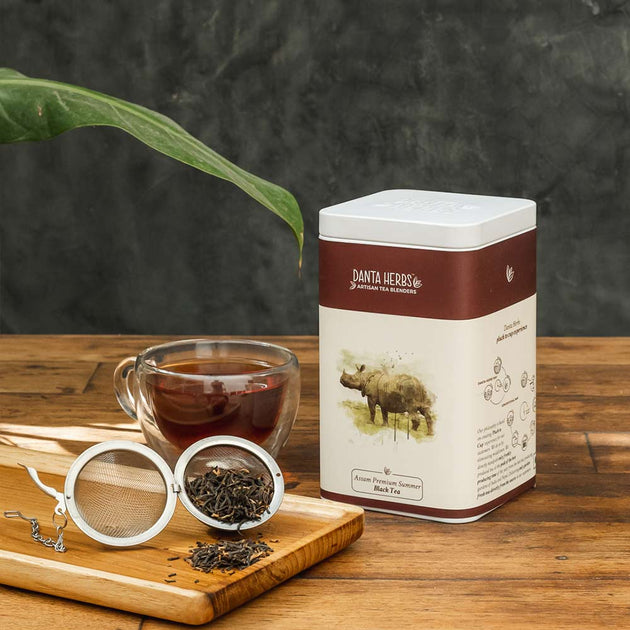 Assam Premium Summer Black Tea - Tin Caddy