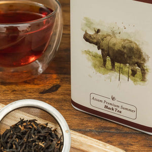 Buy Assam Premium Summer Black Tea - Tin Caddy