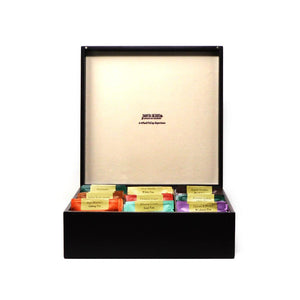 9 TREASURE WOODEN TEA CHESt - Danta Herbs, Gift Box - tea