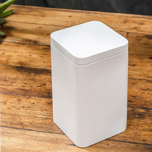 Buy - White Tin Container -Danta Herbs Tea